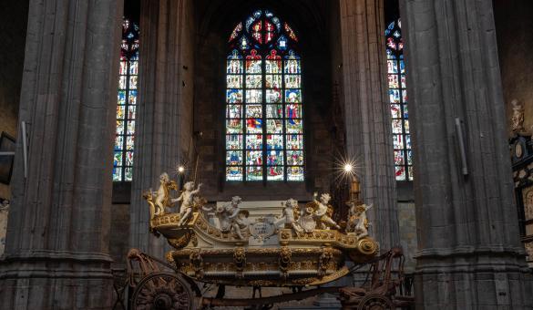 Car d'Or - Sainte-Waudru - Ducasse - Mons - trésor