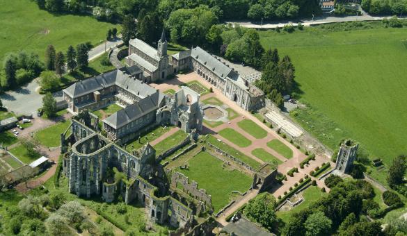 Visitare l'Abbazia di Aulne a Gozée (Thuin) - Provincia di Hainaut (Vallonia)