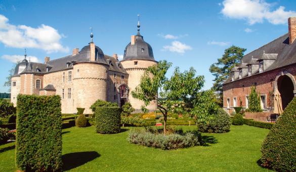 Ontdek het Kasteel van Lavaux-Sainte-Anne, in de provincie Namen