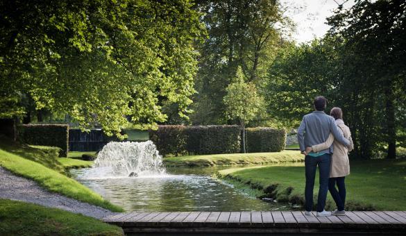Promenez-vous dans les Jardins d'Annevoie, seuls jardins d'eau en Belgique