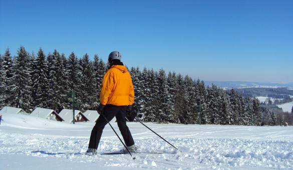 Profitez de la Baraque de Fraiture et de ses pistes de ski alpin à Vielsalm