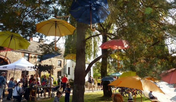Parc Naturel - Deux Ourthes - Territoire protégé - Ardenne - public - fête
