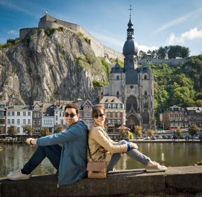 Dinant - Collegiale - Citadelle - couple - jeune