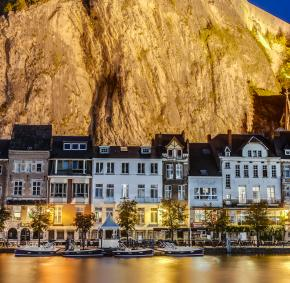 Dinant - Meuse - citadelle - nuit