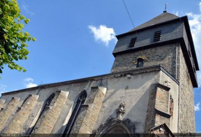 Eglise Saint-Pierre - Bastogne - Vue de l'extérieur