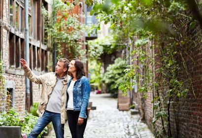 Liège - Impasse de l'Ange - couple