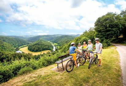 Botassart - Panorama - Tombeau du Géant - Vélo - famille - enfant