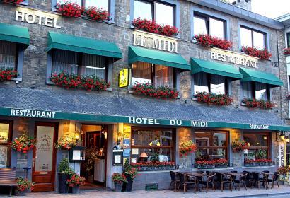 Hôtel - restaurant - Le Midi - la Roche-en-Ardenne