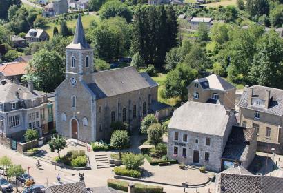 Musée - Pays d'Ourthe-Amblève - Comblain-au-Pont - vue aérienne