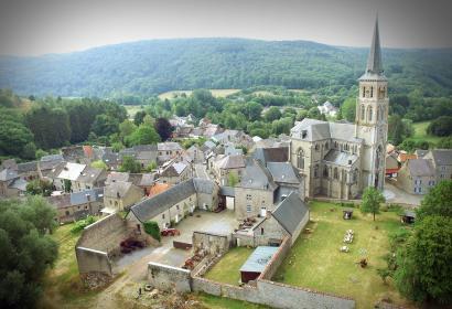 Treignes - Village des Musées - 5 musées originaux - Viroinval - vue aérienne