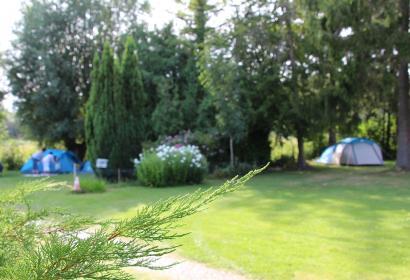 Camping - Trieu du Bois - Luttre - 44 emplacements - tentes - caravanes - motorhomes.