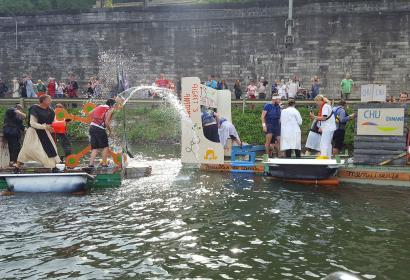 Dinant - Regatta - course - baignoire
