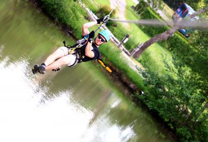 Adventure Valley - Durbuy - le plus grand parc aventure - Belgique