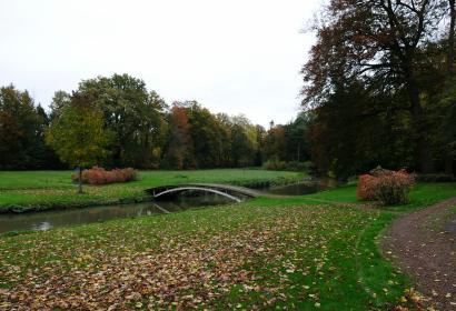 Parc du Château-Braine-le-Château-Vue du parc