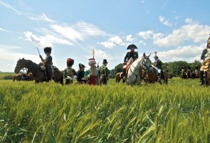 Commemorations and historical re-enactments in Ligny