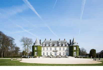 Come and visit the Château de la Hulpe, in the Solvay Estate