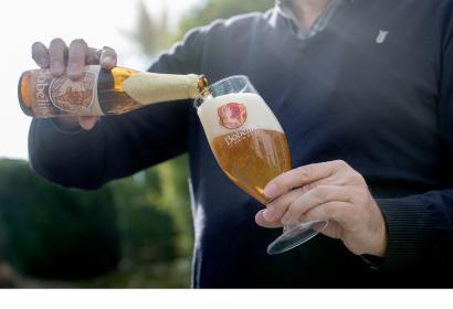 Dégustez une savoureuse Bobeline, la biere de Spa