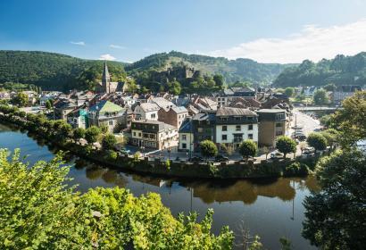 La Roche-en-Ardenne - été - Ourthe