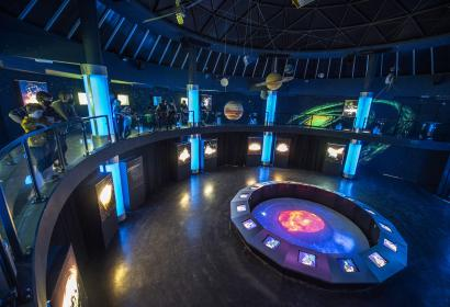 Euro Space Center - Transinne - Vue d'ensemble