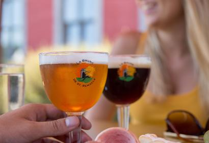 Stavelot - Bière - boire un verre