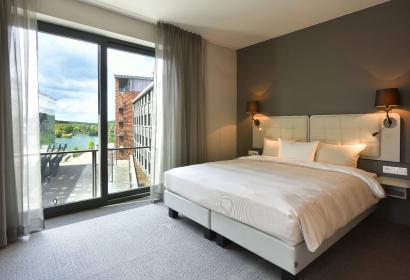 Martin's - All Suites - Louvain-la-Neuve - 102 suites ultra-équipées - chambre