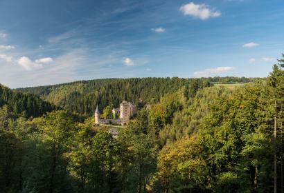 Chateau - Reinhardstein - Canton de l'Est - Wallonie insolite