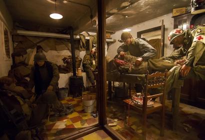 101st Airborne Museum - Musée - bataille des Ardennes - Bastogne