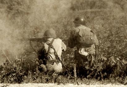 seconde guerre mondiale - 1940-45 - militaire - bataille des Ardennes