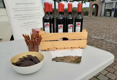 Le vignoble thudinien - Le Clos des Zouaves - Bouteilles
