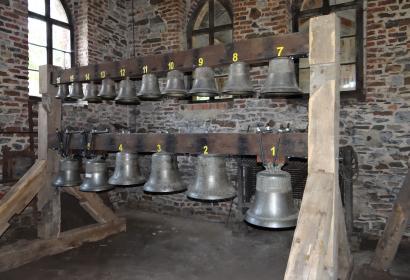 Ancienne fonderie - cloches - Tellin - patrimoine campanaire - cire perdue - Malaxeur