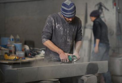 Carrière Briot - tailleurs de pierre - pierre bleue - Namur - Visit'Entreprise