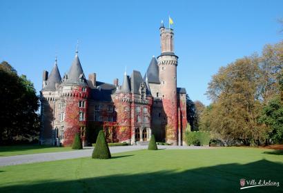 Château - Princes de Ligne - Château d'Antoing - XIIe siècle - bastion - famille de Melun