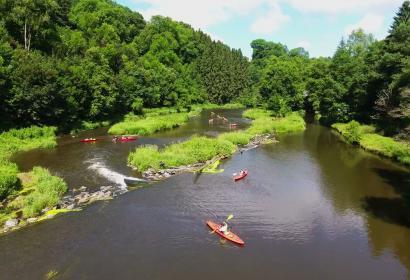 Kayaks et Canoës Le Batifol à Chiny-sur-Semois