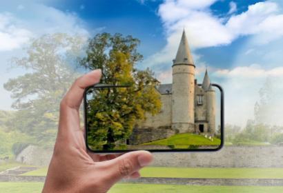 Expos - visites - musées - Wallonie - virtuel - Château - Vêves