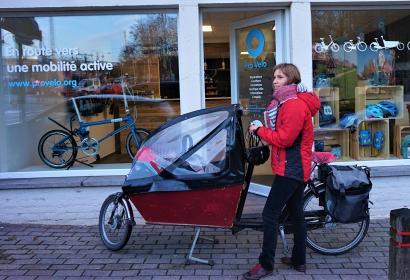 Pro Velo - Brabant wallon - Point Vélo - gare - Ottignies
