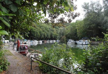 Port de plaisance - Landelies - Montigny - Fondé en 1985 - YCHS - édération Royale Belge de Yachting