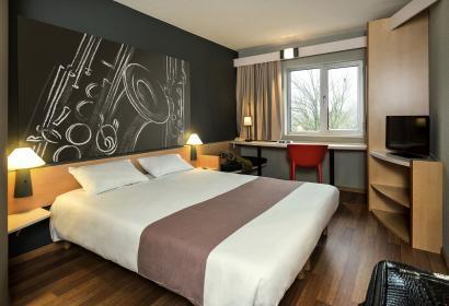 Dinant - Hôtel IBIS- Chambre - lits