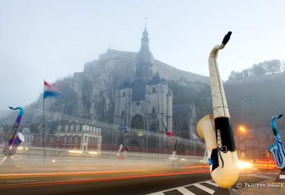 Dinant - Art on Sax - Wallonie insolite - 01
