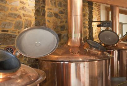 Brasserie de Bellevaux - cuve