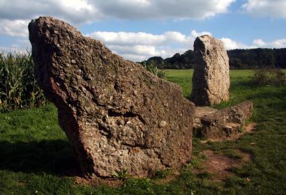 Geopark - Famenne-Ardenne - patrimoine - géologie - Wallonie - Durbuy - Dolmen de Wéris