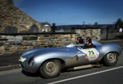 Rallye de sport automobiles - voitures anciennes - Marche-en-Famenne