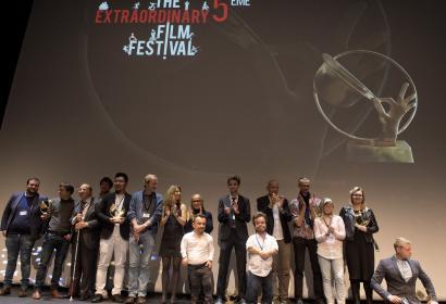 Cérémonie de remise de prix The Extraordinary Film Festival