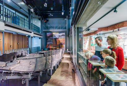 espace gallo-romain - Ath - embarcations antiques - exceptionnelles - bateaux - collections - archéologiques