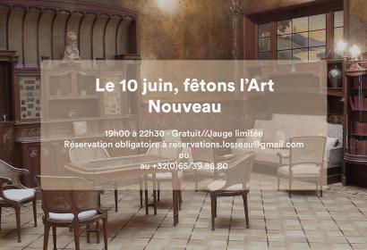 Evénement - 10 juin, fêtons l'Art Nouveau - Mons