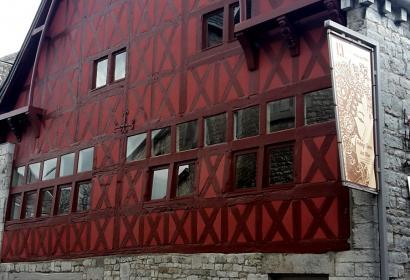 Musée d'Art Moderne et Contemporain de Durbuy - Façade Halle aux Blés