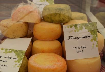 Fromages - Ferme Druart Sol - Commune Estaimpuis