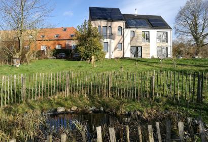 Le jardin du gîte rural Le Haut des Fiefs à Braine-le-Château
