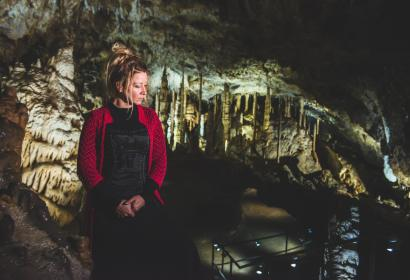 Han-Chanté, lyrische Lieder in den Grotten von Han-sur-Lesse