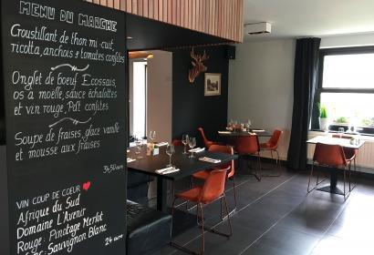 La Passerelle - Hôtel - restaurant - hôtel-restaurant - ancienne ferme - chambres - Ourthe - terrasse - nature