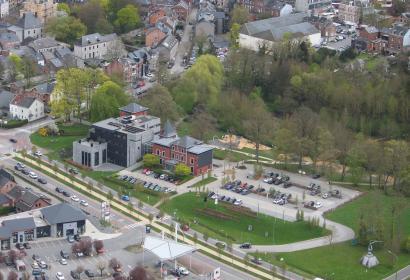 Parc - château - van der Straten